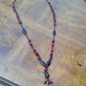 Double stranded Eleke for a new initiate of Elegua