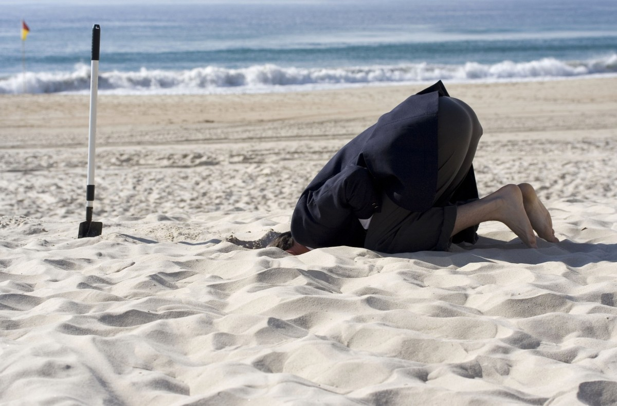 Burying your head in the Sand